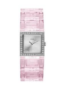 Rúžové hodinky Guess
